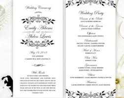 cheap wedding ceremony programs printed programs for wedding blue lace wedding ceremony