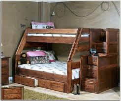 Bunk Bed With Stairs And Trundle Bedding Alluring Bunk Bed With Stairs