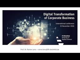 fh bielefeld design digital transformation of corporate business prof dr rainer