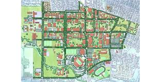 Campus Map Oregon State by Oregon State University Campus Master Plan U2039 Walker Macy