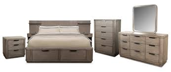 the malibu low bedroom collection american signature furniture