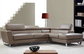 Modern Leather Sofas For Sale Waltz Modern Leather Sectional Sofa With Adjustable Headrests