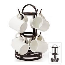 buy gourmet basics rotating mug tree at mikasa