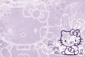 wallpaper hello kitty violet hello kitty wallpaper purple by luvphotoshop on deviantart