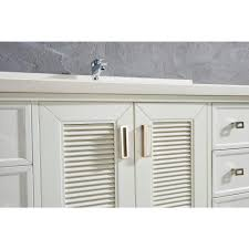 48 inch oxford gray finish cottage bathroom vanity cabinet with mirror