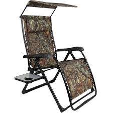 Zero Gravity Chair With Side Table Mainstays Xl Zero Gravity Chair With Side Table And Canopy Camo