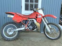 honda cr 500 honda cr500 gallery classic motorbikes