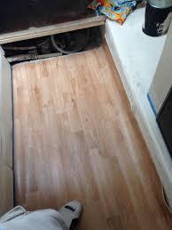 Teak And Holly Laminate Flooring Began To Remove Carpet U2014 Rinker Boats