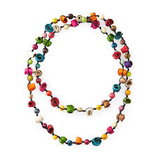 colored necklace images Citrus twist multi colored necklace women 39 s jewelry orange peel jpg