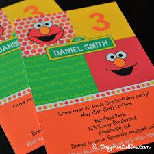 elmo birthday party printables cheerful invitations party ideas