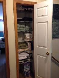 linen closet size in your bathroom