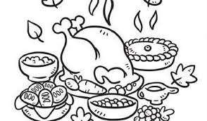 free printable thanksgiving coloring pages for kindergarten