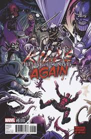 Marvel Universe Map Jul171158 Deadpool Kills Marvel Universe Again 5 Previews World