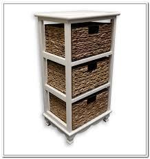 wicker bathroom storage furniture home design ideas