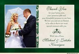 wedding thank you notes classic photo wedding thank you cards image