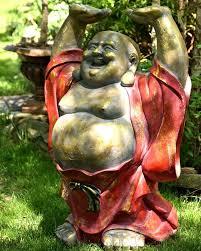 zaerltdinternational happy buddha garden statue reviews wayfair