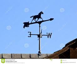 Horse Weathervane For Barn Windwijzer Op Dak Stock Foto U0027s U2013 196 Windwijzer Op Dak Stock