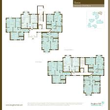 Ground Floor And First Floor Plan by Retirement Apartment Ground Floor Plans In Eaton Boughton Hall