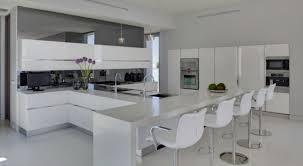 cuisine contemporaine blanche 99 idées de cuisine moderne où le bois est à la mode