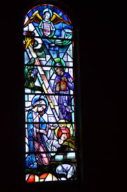 the stained glass windows of sacred heart cathedral u2013 voice of the