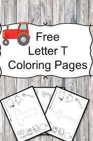 letter t coloring pages free and great for preschool or kindergarten