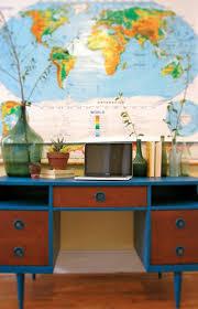 Pull Down World Map by Desk Design And Rehab U2014 Casey Godlove