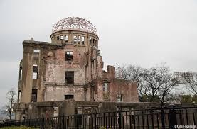genbaku dome the remains of the atomic bombing of hiroshima