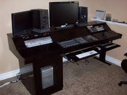 How To Make A Studio Desk by Bedroom Studio Desk Gallery And For Home Pro Audio Picture