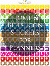 wendaful printable stickers planners