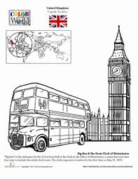 london coloring page coloring pages geography and coloring