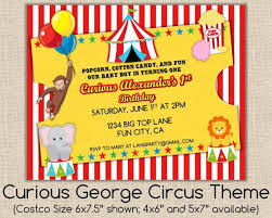 87 best curious george circus party images on pinterest circus