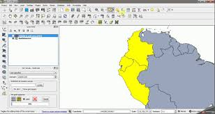 Regions Of South America Map by Qgis How Do I Create Grids In The Region Of South America
