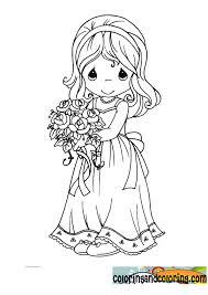 printable precious moments wedding coloring pages 5094 precious