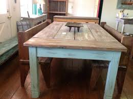 benches rustic kitchen tables with benches country dining room