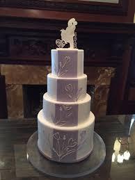 wedding cake lavender wedding cakes