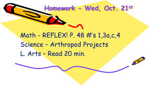 homework u2013 thurs oct 22 nd picture re takes tomorrow l arts