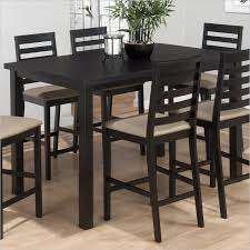 High Dining Room Tables Dining Tables Stunning Bar Dining Table Design Ideas Cool Black