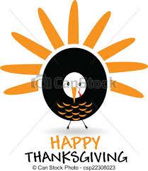 happy thanksgiving celebration logo happy thanksgiving vector