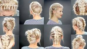 plaited hairstyles for short hair most wanted braids hairstyles short hair
