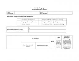 daily lesson plan template format for kinderg elipalteco