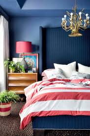 Bedrooms With Blue Walls Patriotic Style Our Favorite Red White And Blue Home Decor