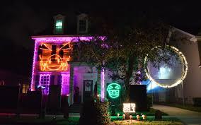 Cute Halloween Yard Stakes by Halloween Outdoor Lights Sacharoff Decoration