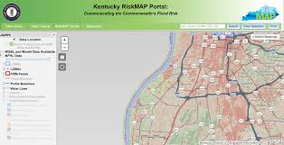 Louisville Map Dow Water Maps Flood Risk Mapper Kentucky Waterways Alliance