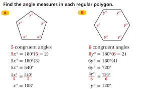 The Sum Of Interior Angles Lesson 7 3 Polygons Faribault Public Schools Isd 656