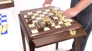 jlp usa hardwood chess table youtube