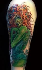 poison ivy tattoo design for sleeve by ashes hell