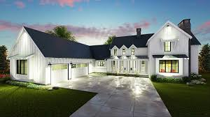 4 bedroom farmhouse plans blueprint quickview front architectural designs rockin farmhouse