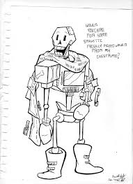 what is concept concept art robo papyrus by asmallone on deviantart