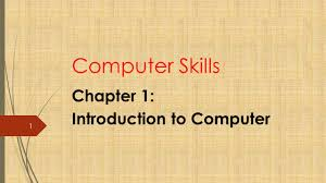 chapter 1 introduction to computer ppt download