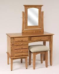 Oak Vanity Table Shaker Dressing Table